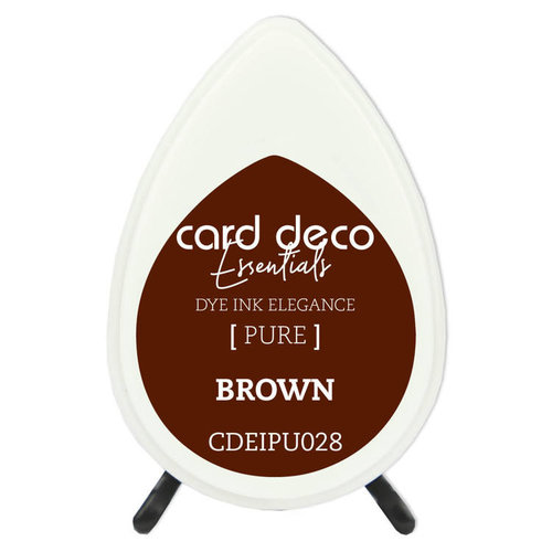 Card Deco CDEIPU028 - Card Deco Essentials Fade-Resistant Dye Ink Brown