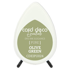 CDEIPU024 - Card Deco Essentials Fade-Resistant Dye Ink Olive Green