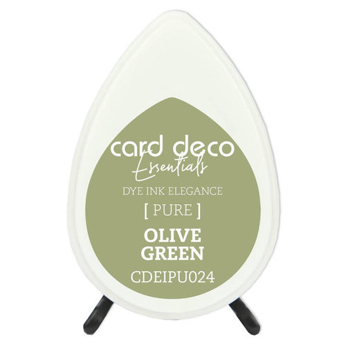 Card Deco CDEIPU024 - Card Deco Essentials Fade-Resistant Dye Ink Olive Green