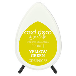 CDEIPU022 - Card Deco Essentials Fade-Resistant Dye Ink Yellow Green