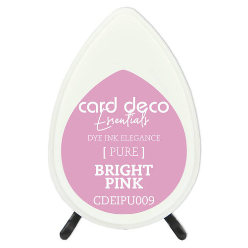 Card Deco CDEIPU009 - Card Deco Essentials Fade-Resistant Dye Ink Bright Pink