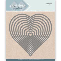 CDECD0024 - Card Deco Essentials Cutting Dies Heart