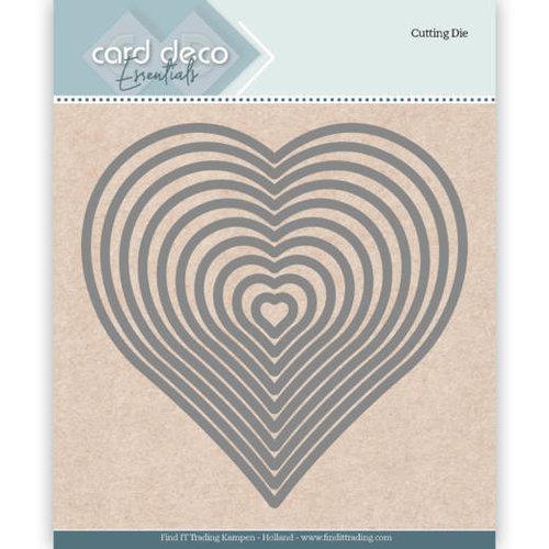 Card Deco CDECD0024 - Card Deco Essentials Cutting Dies Heart