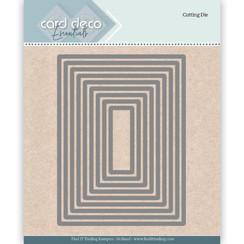 CDECD0023 - Card Deco Essentials Cutting Dies Rectangle