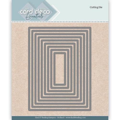 Card Deco CDECD0023 - Card Deco Essentials Cutting Dies Rectangle