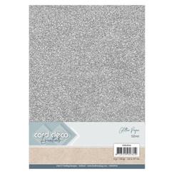 CDEGP014 - Card Deco Essentials Glitter Paper Silver