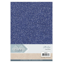CDEGP013 - Card Deco Essentials Glitter Paper Dark Blue