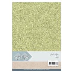 CDEGP010 - Card Deco Essentials Glitter Paper Gold