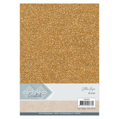 CDEGP009 - Card Deco Essentials Glitter Paper Bronze