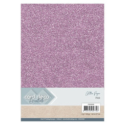 CDEGP008 - Card Deco Essentials Glitter Paper Pink