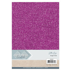 CDEGP007 - Card Deco Essentials Glitter Paper Bright Pink