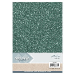 CDEGP004 - Card Deco Essentials Glitter Paper Dark Teal