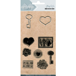 CDESD009 - Clear stamps & Cutting Die