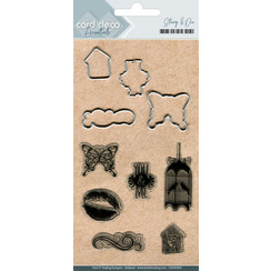 CDESD004 - Clear stamps & Cutting Die