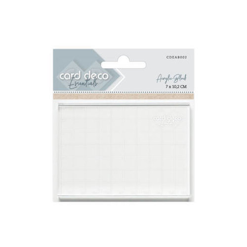 Card Deco CDEAB002 - Acrylic Block