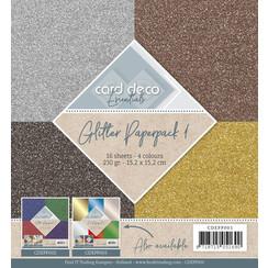 CDEPP001 - Glitter Paperpack 1