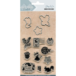 CDESD003 - Clear stamps & Cutting Die
