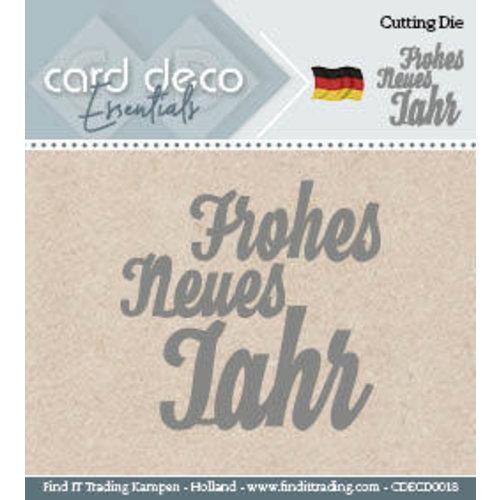 Card Deco CDECD0018 - Card Deco Cutting Dies- Frohes Neues Jahr