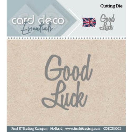 Card Deco CDECD0002 - Card Deco Cutting Dies- Good Luck