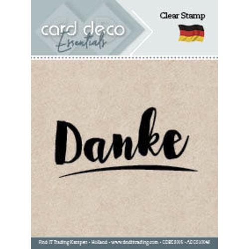 Card Deco CDECS005 - ADCS10048 - Danke - Textstamp