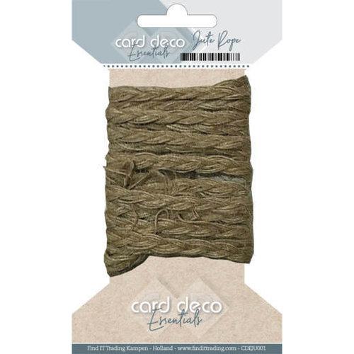 Card Deco CDEJU001 - Card Deco Essentials - Jute Rope