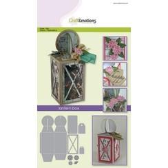 115633/1505 - CraftEmotions Die - lantern box Card A5 box 58x160x58 mm