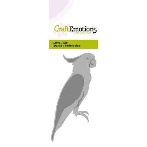 CraftEmotions 115633/0212 - CraftEmotions Die - kaketoe Card 5x10cm