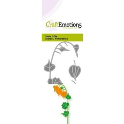 115633/0227 - CraftEmotions Die - lampionplant 3D Card 5x10cm