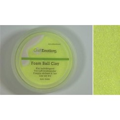 M03-610115/0210 - CraftEmotions Foamball clay - citroen 75ml - 23gr Air dry