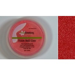 M03-610115/0220 - CraftEmotions Foamball clay - rood 75ml - 23gr Air dry