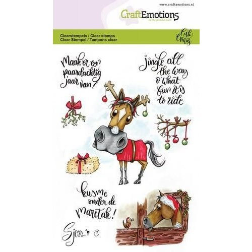 CraftEmotions CRE0249 - CraftEmotions clearstamps A6 - Sjors 1 (NL) Carla Creaties