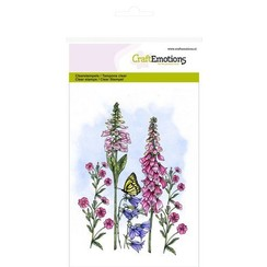CRE0283 - CraftEmotions clearstamps A6 - veldbloemen 3 GB