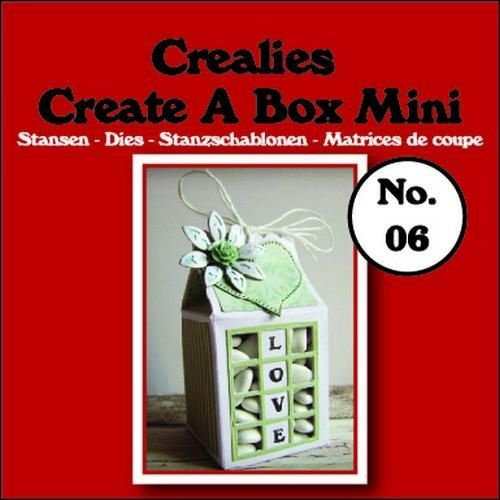 Crealies CCABM06 - Crealies Create A Box Mini no. 06 Melkpak 105x125mm / 06