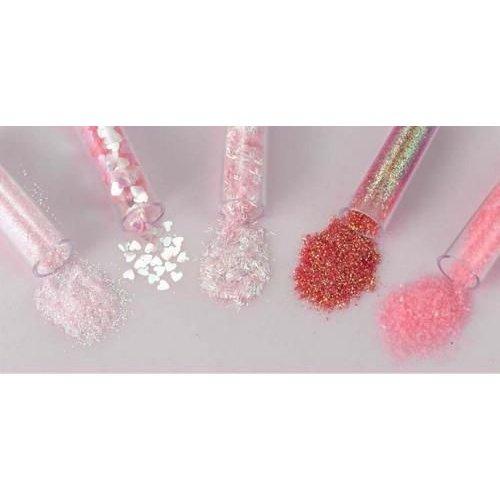 12086-8603 - Glitters Set 5x1,8grs,rose