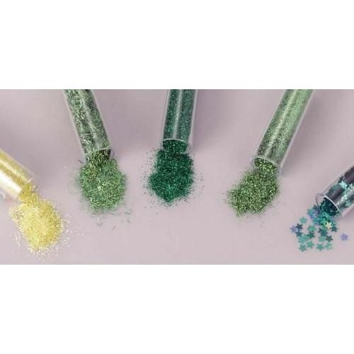 12086-8605 - Glitters Set 5x1,8grs,caribean