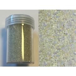 12342-4203 - Mini pearls (zonder gat) 0,8-1,0mm wit 22 gram -4203