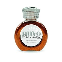 727N - Nuvo Pure sheen glitter - Spiced apricot
