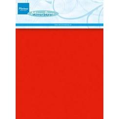 CA3137 - Decoration Red mirror paper