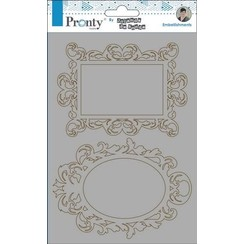 492.010.004 - Pronty Chipboard Barok frames  A5 10.004 by Jolanda