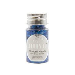 1070N - Nuvo Pure sheen confetti - bluebell heartss 35ml