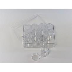 12294-9404 - Storage Boxes, 12 pcs/ set, 160x120x51mm