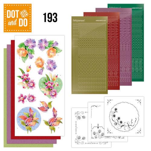 Dot en Do DODO193 - Dot and Do 193 - Jeanine's Art - Orchid