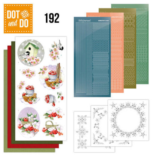 Dot en Do DODO192 - Dot and Do 192 -Jeanine's Art - Cold Winter