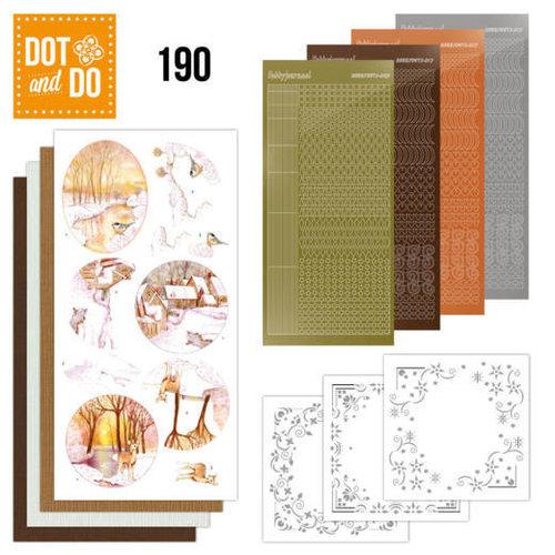 Dot en Do DODO190 - Dot and Do 190 - Jeanine's Art - Yellow Forest