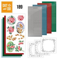 DODO189 - Dot and Do 189 - Jeanine's Art - Winter Flowers