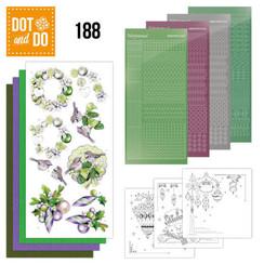 DODO188 - Dot and Do 188 - Jeanine's Art - Purple Christmas Baubles