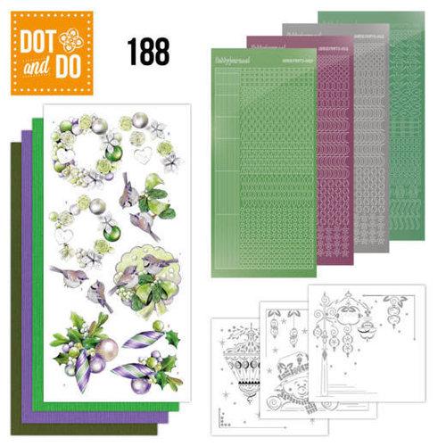 Dot en Do DODO188 - Dot and Do 188 - Jeanine's Art - Purple Christmas Baubles