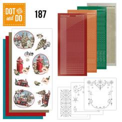 DODO187 - Dot and Do 187 - Amy Design - Nostalgic Christmas - Christmas Train