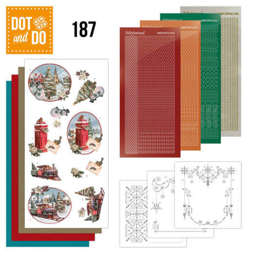 Dot en Do DODO187 - Dot and Do 187 - Amy Design - Nostalgic Christmas - Christmas Train