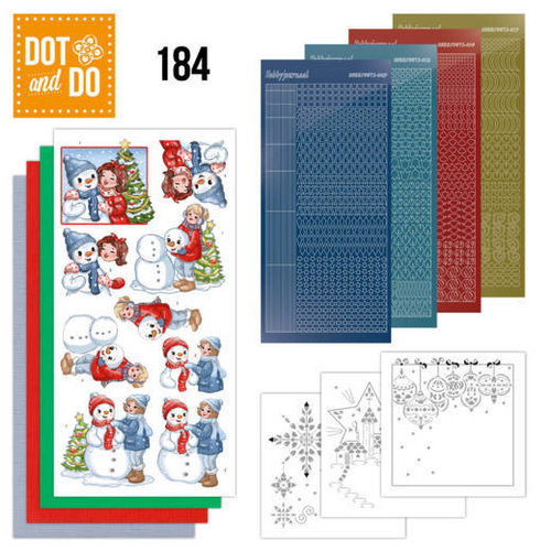 Dot en Do DODO184 - Dot and Do 184 - Yvonne Creations - Bubbly Girls - Christmas